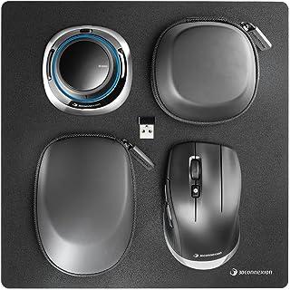3Dconnexion 3DX-700067 Spacemouse Wireless Kit - 3D Mouse - 2.4 Ghz (3Dx-700067), Black