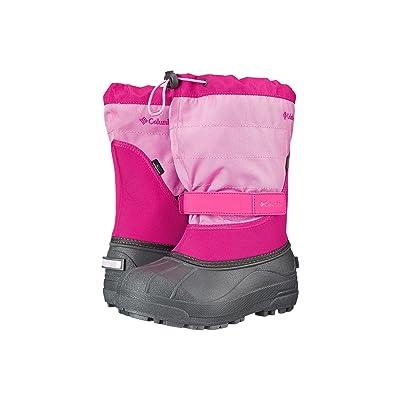 Columbia Kids Powderbugtm Plus II Boot (Toddler/Little Kid/Big Kid) (Glamour/Orchid) Girls Shoes
