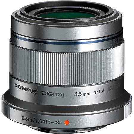 OLYMPUS 単焦点レンズ M.ZUIKO DIGITAL 45mm F1.8 シルバー