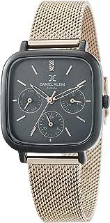 Daniel Klein Analog Gunmetal Dial Women's Watch-DK.1.12373-6