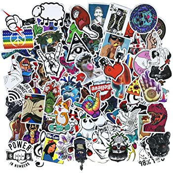 Laptop Stickers 200 pcs TCT TECH Car Motorcycle Bicycle Luggage Decal Graffiti Skateboard Stickers for Laptop Bumper LBttnny TCT TECH S0201
