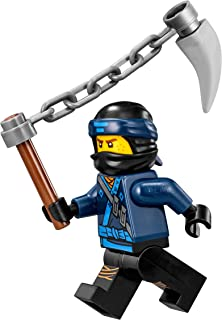 LEGO The Ninjago Movie Minifigure - Jay (in Ninjao Suit w/ Spiked Chain) 70618