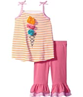 Mud Pie - Popsicle Tank Top Shorts Set (Toddler)