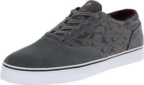 CHENDX Hauszapatos, Estilo britáNiño de Moda para Hombre Estilo holgazán de conducción holgazán con Cordones de Color sólido Empalme Vamp zapatos (Color   Caqui, Tamaño   43 EU)