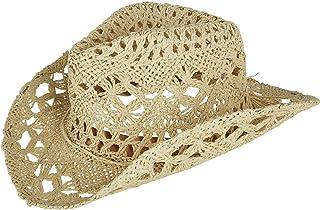 Jeanne Simmons Kids' Paper Woven Western Hat