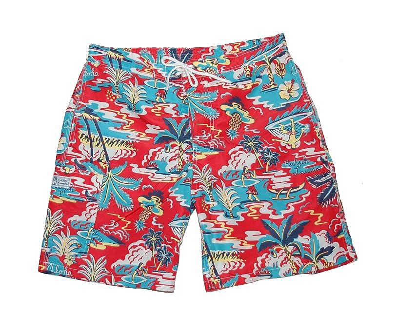 Ralph Lauren Polo Men's Kaiula Printed Swim Trunks Large L