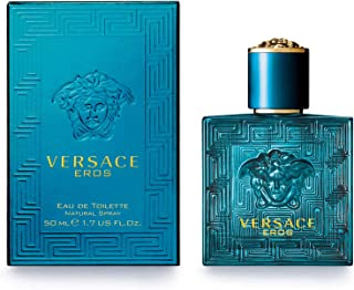 Versace Eros Eau De Toilette Spray, 1.7 Ounce