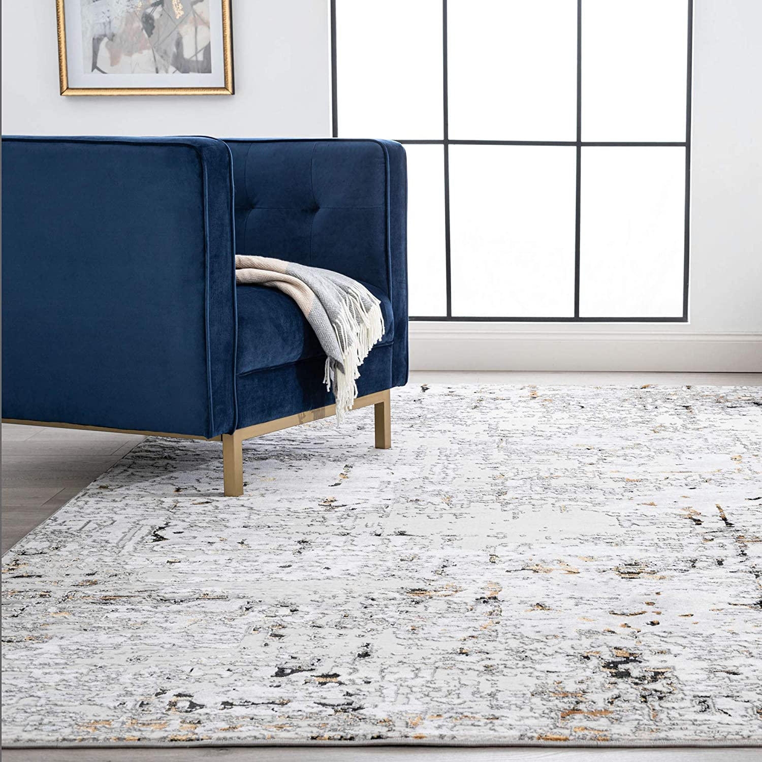 New product type Tayse Meridith Machine Washable Area Rug for OFFer Liv Rugs - 5x7