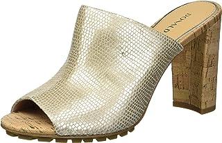 Donald J Pliner Women's Slide Sandal, Platino, 9.5