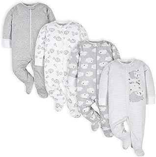 unisex-baby 4 Pack Sleep 'N Play Footie