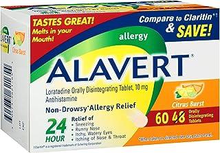 Alavert 24 Hour Orally Disintegrating Tablets Citrus Burst 60 Tablets
