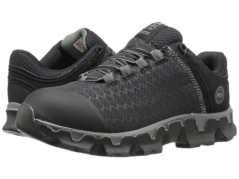 誇大妄想献身食料品店[ティンバーランド] レディースウォーキングシューズ?カジュアルスニーカー?靴 Powertrain Sport Soft Toe SD+ Black Synthetic 5.5 (22.5cm) C - Wide [並行輸入品]