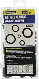 225 Piece Metric Nitrile O-Ring Assortment