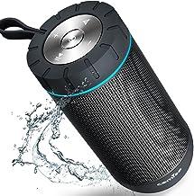 COMISO Waterproof Bluetooth Speakers Outdoor Wireless...