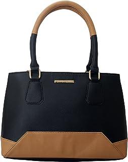 Lapis O Lupo Women's Handbag (LLHB0027BK_Black)