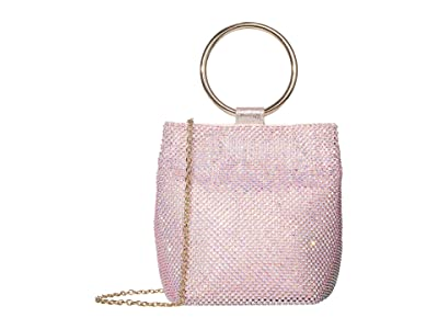 Jessica McClintock Gwen Clutch (Iridescent Pink) Clutch Handbags
