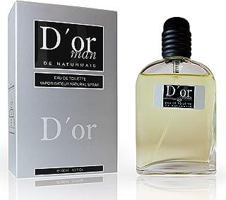 D'Or Eau De Parfum Intense 100 ml. Compatible con Diore Homme Perfume Equivalente Hombre