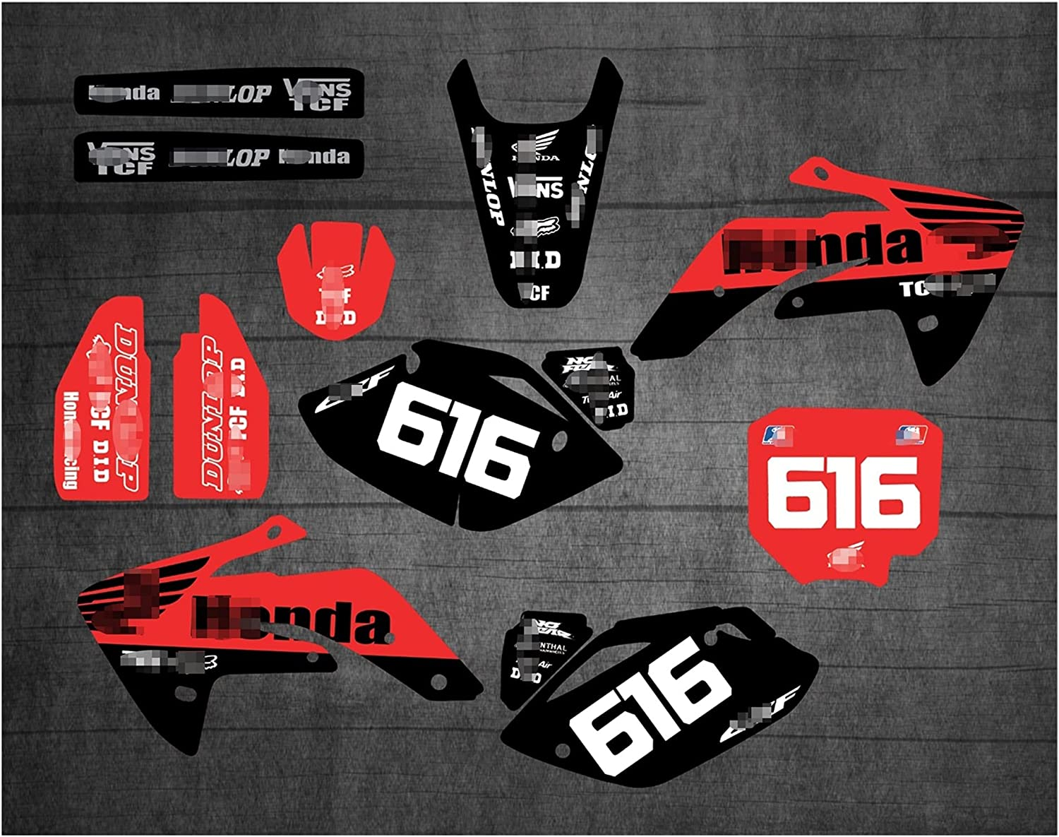 YHYPRESTER XYTZ228 Customized 3M Grap Safety and trust Decals Max 68% OFF Stickers Motorcycle