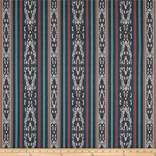Sunbrella 0568613 Artistry Jacquard Stripe Indigo Fabric by the Yard