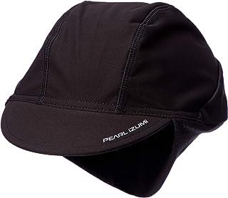 [パールイズミ] ウィンター サイクルキャップ 保温 吸汗速乾 冬用サイクルウェア 472 ブラック 日本 F (FREE サイズ)