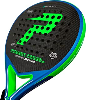 Pala Power Padel Ultimated Carbon Pro Green / Blue Mate ...