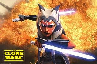 Trends International Star Saga-Clone Wars Wall Poster, 14.725