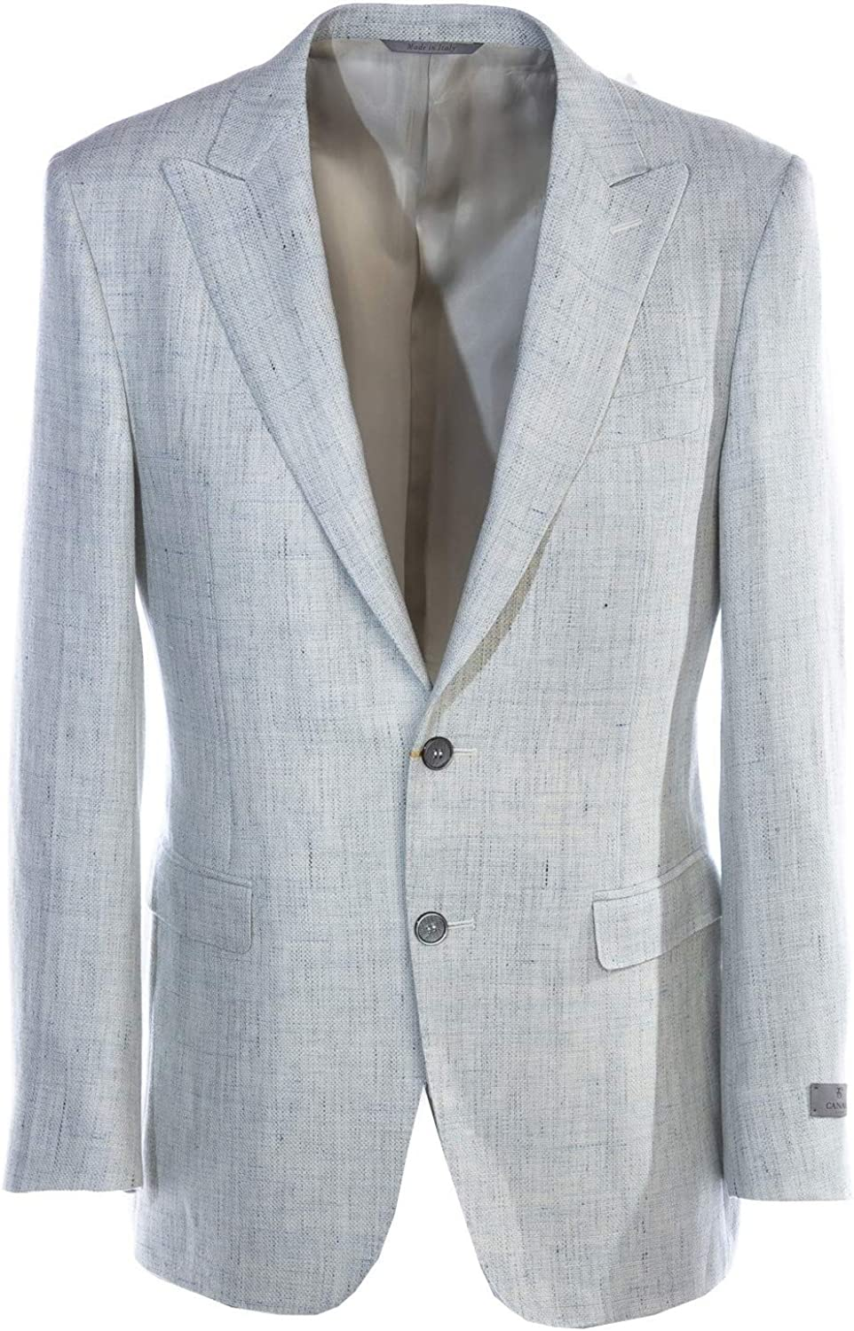 Canali Sky Fleck Jacket in Off White