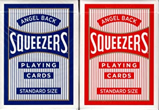 Squeezers Angel Back Playing Cards USPCC