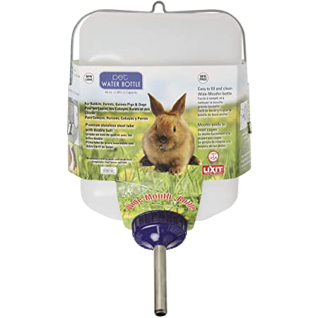 Lixit All-Weather Rabbit Water Bottle, 64oz