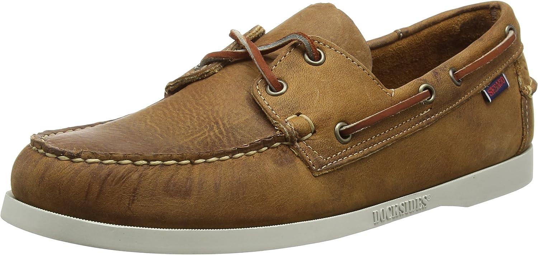 Sebago Men's Docksides Portland Crazy H Boat shoes