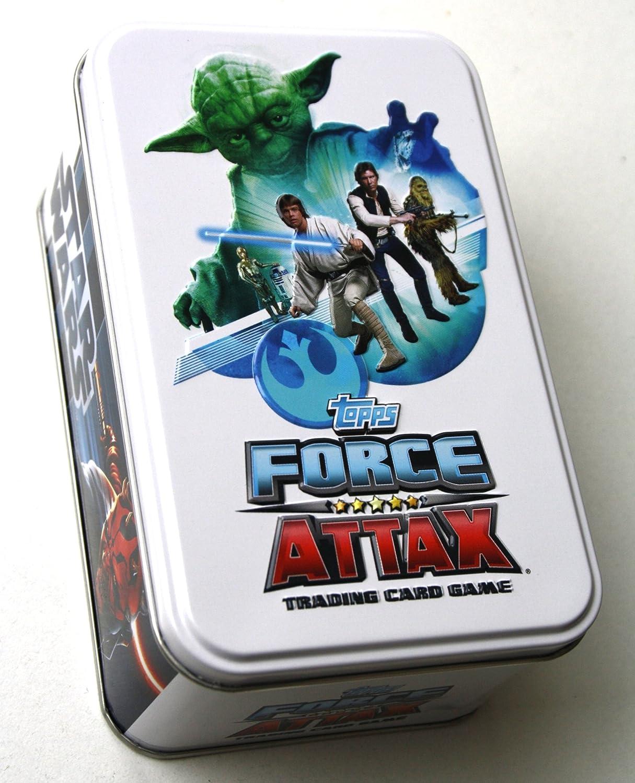 STAR WARS FORCE ATTAX - MOVIE CARD COLLECTION - SERIE 3 - TINBOX - DEUTSCH B0076KMK1Y Luxus  | Attraktives Aussehen
