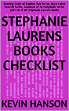 Stephanie Laurens Books Checklist: Reading Order of Bastion Club Series, Black Cobra Quartet Series, Casebook of BarnabyAdair Series and List of All Stephanie Laurens Books