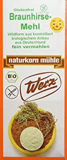 Werz Braunhirse gemahlen glutenfrei, 1er Pack 1 x 1 kg Packung - Bio