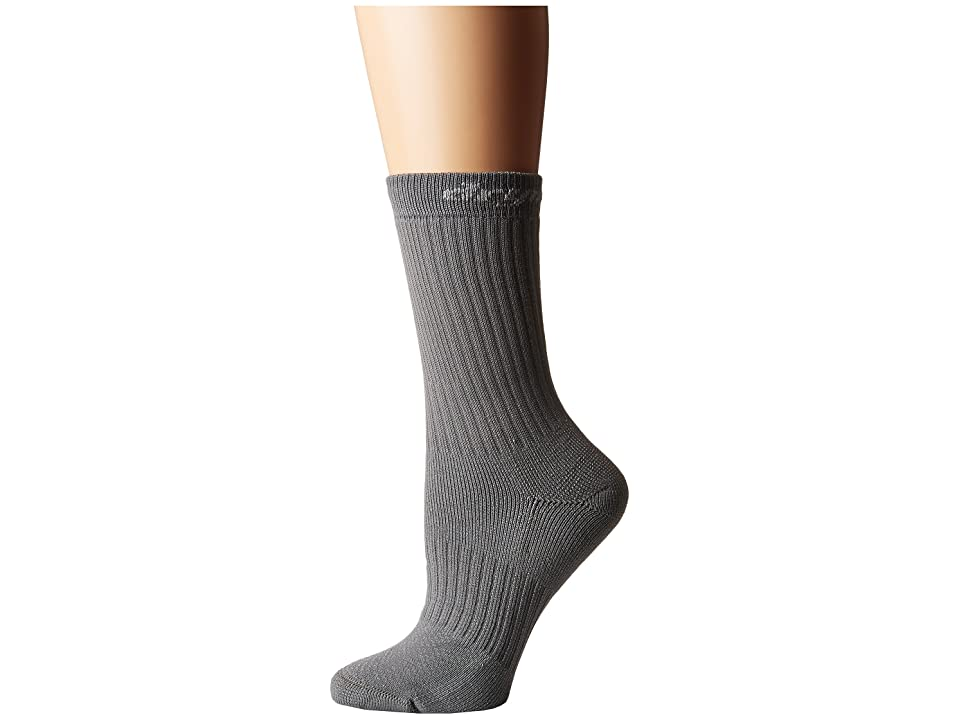 Drymax Sport Hiking HD Crew 1-Pair (Anthracite) Women's Crew Cut Socks Shoes, Pewter