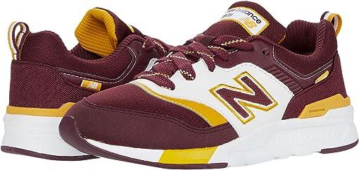 NB Burgundy/Varsity Gold