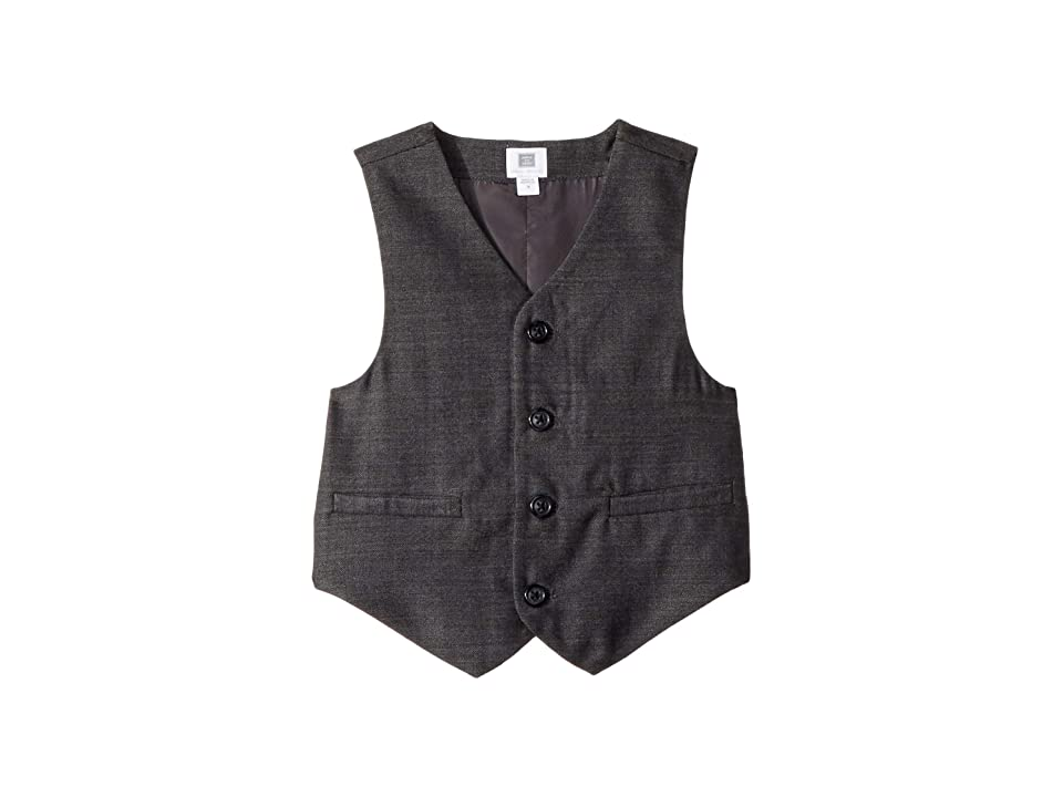 1930s Childrens Fashion: Girls, Boys, Toddler, Baby Costumes Janie and Jack Dress Up Vest ToddlerLittle KidsBig Kids Grey Boys Vest $69.00 AT vintagedancer.com