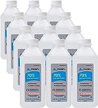 Swan 70% Isopropyl Alcohol First Aid Antiseptic, 16 Fl Oz (Pack of 12), 192 Fl Oz