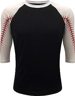 ILTEX Baseball Softball Raglan Tshirt Jersey Kids & Adult Unisex Mom Sports Athletic