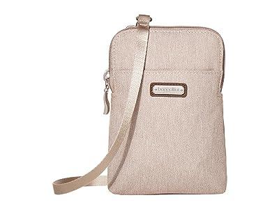 Baggallini New Classic Take Two RFID Bryant Crossbody (Sand Heritage) Handbags