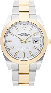 Rolex Datejust Mechanical (Automatic) White Dial Mens Watch 126303 (Certified Pre-Owned)