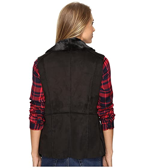 Waterfall Lucky Faux Vest Brand Shearling tZTvZpqn