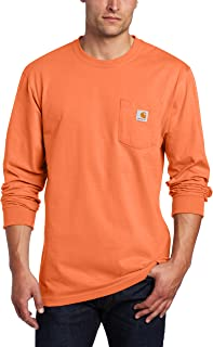 Carhartt Men's K126 Long Sleeve Workwear Crewneck T-Shirt