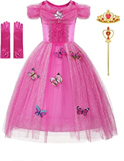 New Dresses Princess Fancy Dress for Little Girls Costume Cosplay