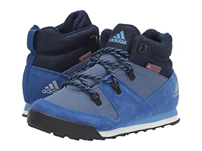 adidas Outdoor Kids CW Snowpitch (Little Kid/Big Kid) (Tech Ink/Collegiate Royal/Real Blue) Boys Shoes
