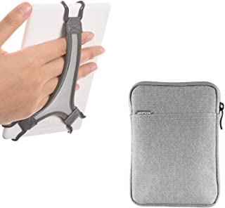 E-Reader Grip Holder WANPOOL Hand Strap Holder for Kindle / Paperwhite / Voyage / Oasis, Plus Protective Felt Cover Pouch Bag