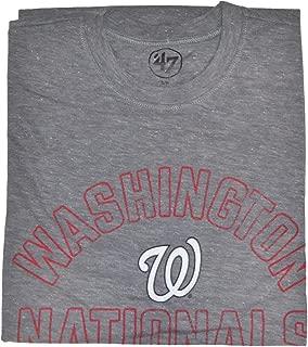 '47 Brand Men's Hollow Arch Short Sleeve T-Shirt - MLB Gray Heather Tee Shirt