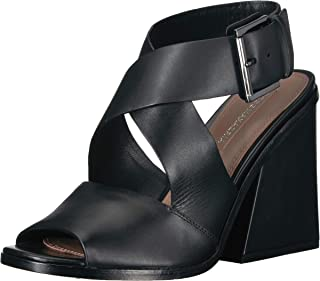 BCBGMAXAZRIA Women's Sara Chunky Heel Sandal Heeled