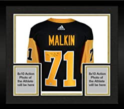 Framed Evgeni Malkin Pittsburgh Penguins Autographed Black Adidas Authentic Jersey - Fanatics Authentic Certified
