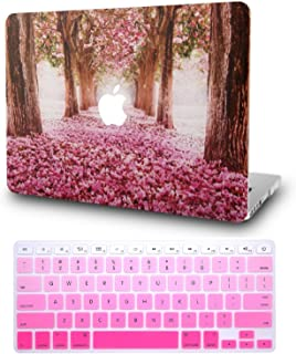 """KECC Laptop Case for MacBook Air 13"""" w/Keyboard Cover Plastic Hard Shell Case.."""