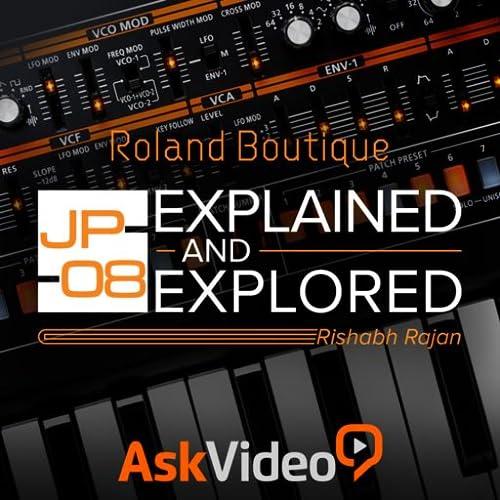 Roland Boutique JP-08 Course by Ask.Video